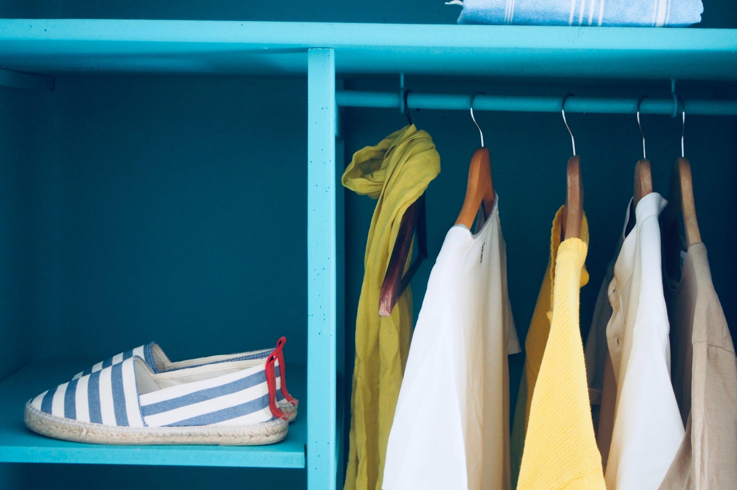 como organizar el armario con el método de Marie Kondo